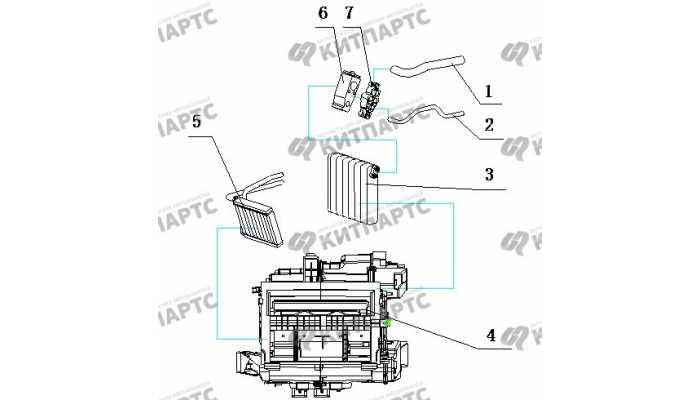 Радиатор кондиционера BYD F3 (F3R)