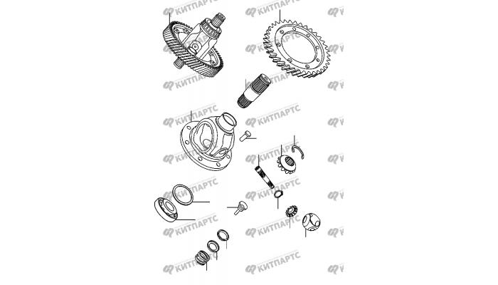 Дифференциал Chery Amulet (A15)