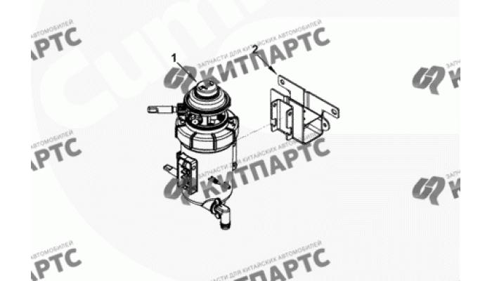 Фильтр топливный Cummins 2.8 ISF