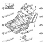 Подушка безопасности сиденья водителя