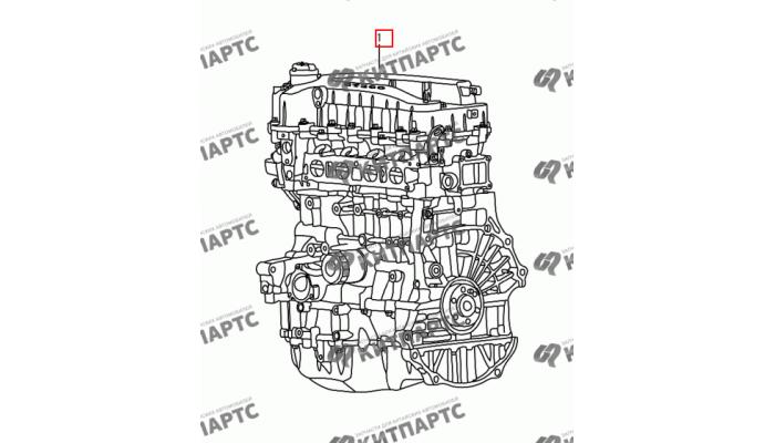 Двигатель в сборе Dong Feng H30 Cross