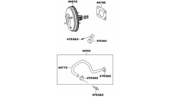 Вакуумный усилитель тормоза FAW V5