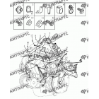 Жгут проводов двигателя