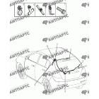 Жгут проводов задний (хетчбэк)