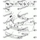 Бампер передний (седан)