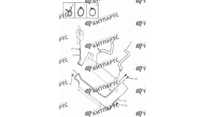 Трубки вариатора Geely Emgrand (EC7)