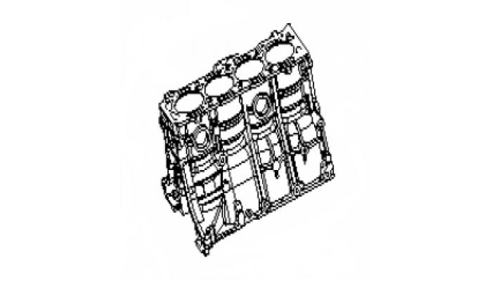 Блок цилиндров в сборе Geely MK