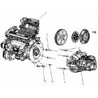 Двигатель в сборе 1,5L (MR479QA)