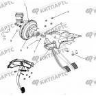 Педали сцепления и тормоза