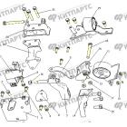 Подушки двигателя (1.3L)